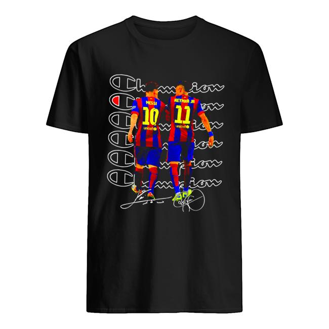 Messi and Neymar Champions  Classic Men's T-shirt