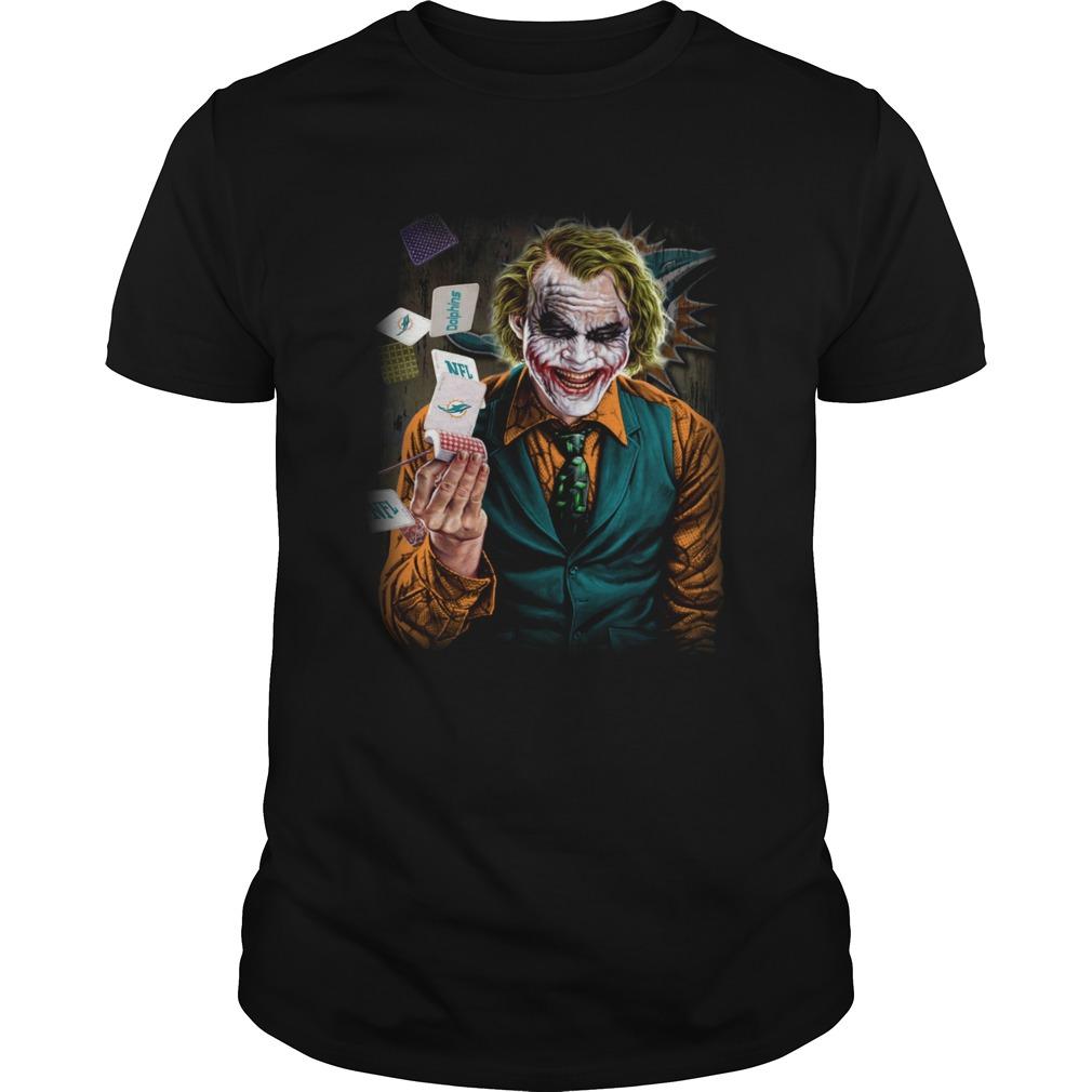 Miami Dolphins Joker Poker Shirt Unisex