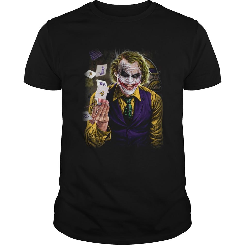 Minnesota Vikings Viking Joker Poker Shirt Unisex