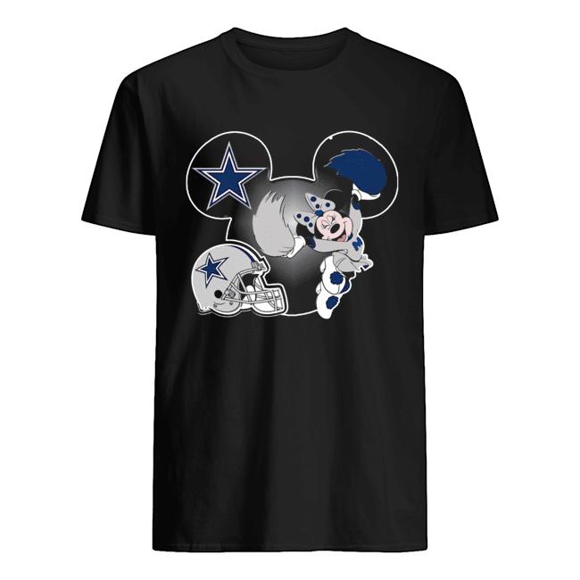 Minnie Mouse Dallas Cowboys Shirt Classic Men's T-shirt
