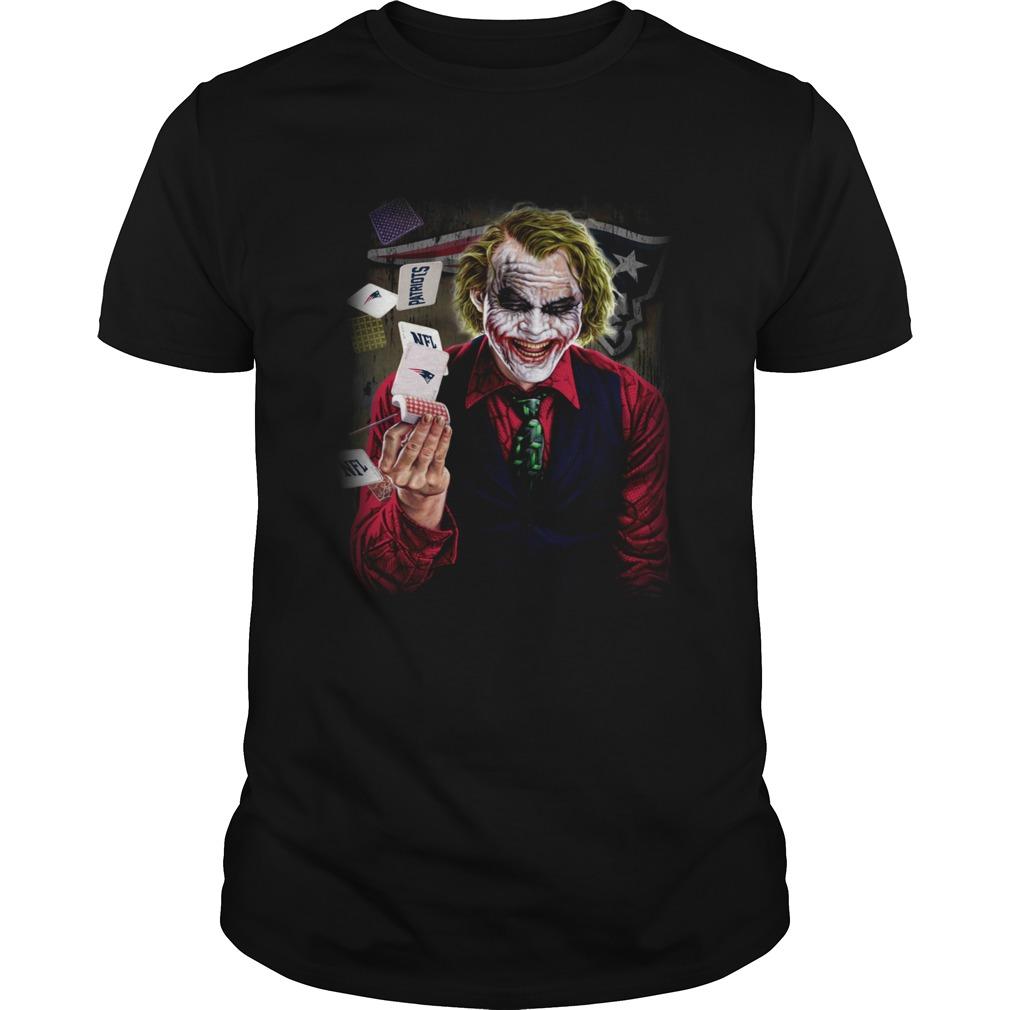 New England Patriots Joker Poker Shirt Unisex