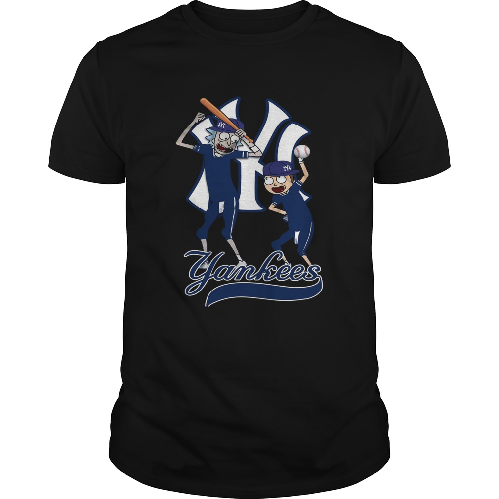 Official Rick and Morty New York Yankees Shirt Unisex