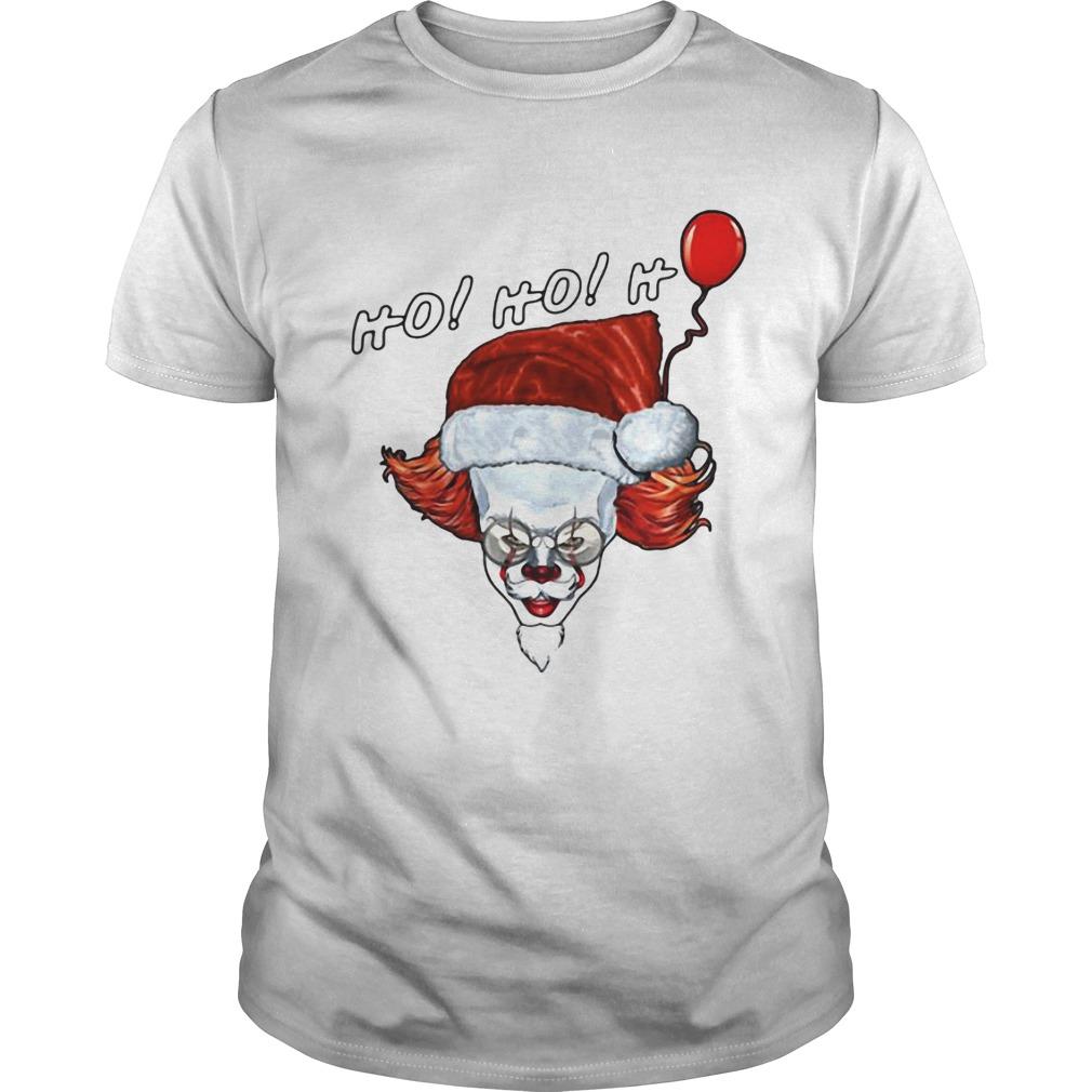 Pennywise IT Ho Ho Ho Santa Claus  Unisex