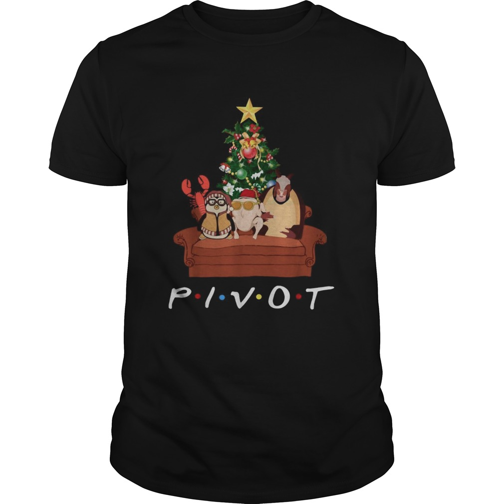 Pivot Friends Christmas  Unisex