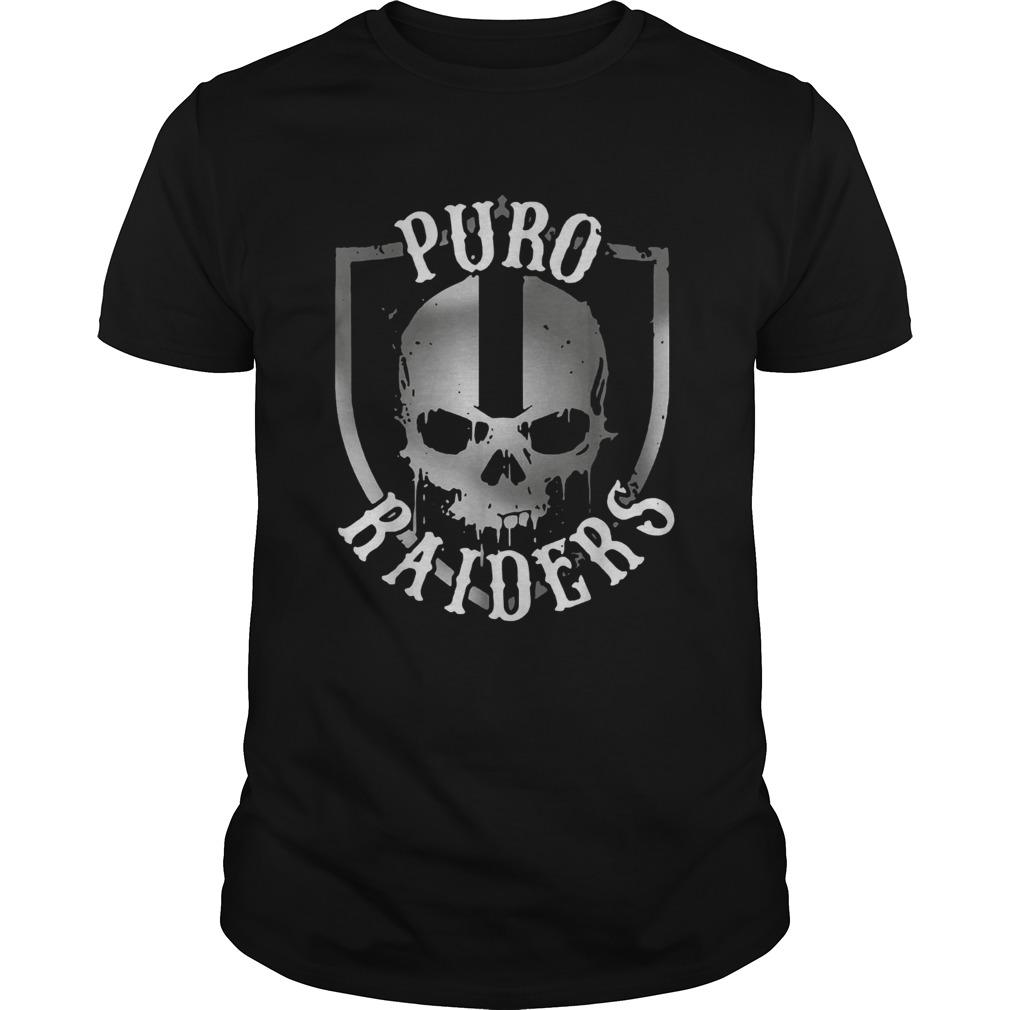 Puro Raiders skull  Unisex