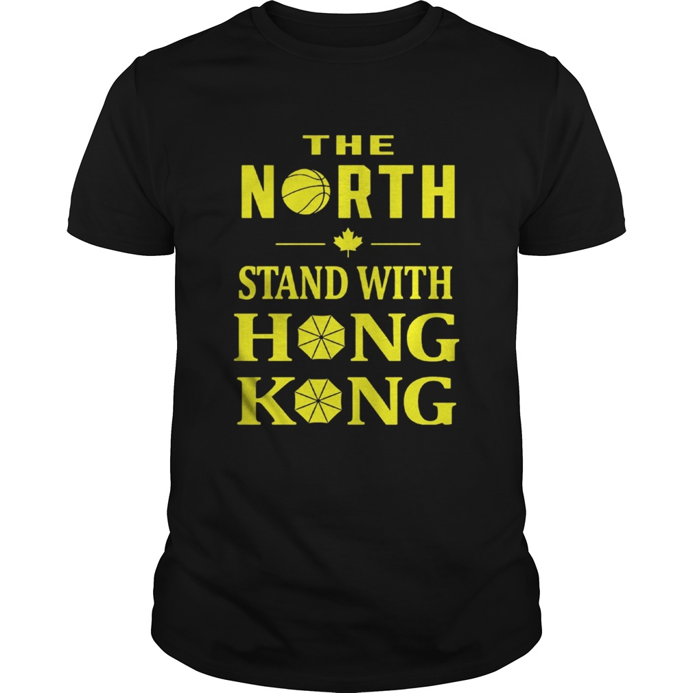 Raptors The North Stand With Hong Kong Shirt Unisex