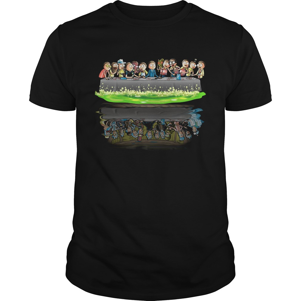 Rick and Morty Supper Last water reflection  Unisex