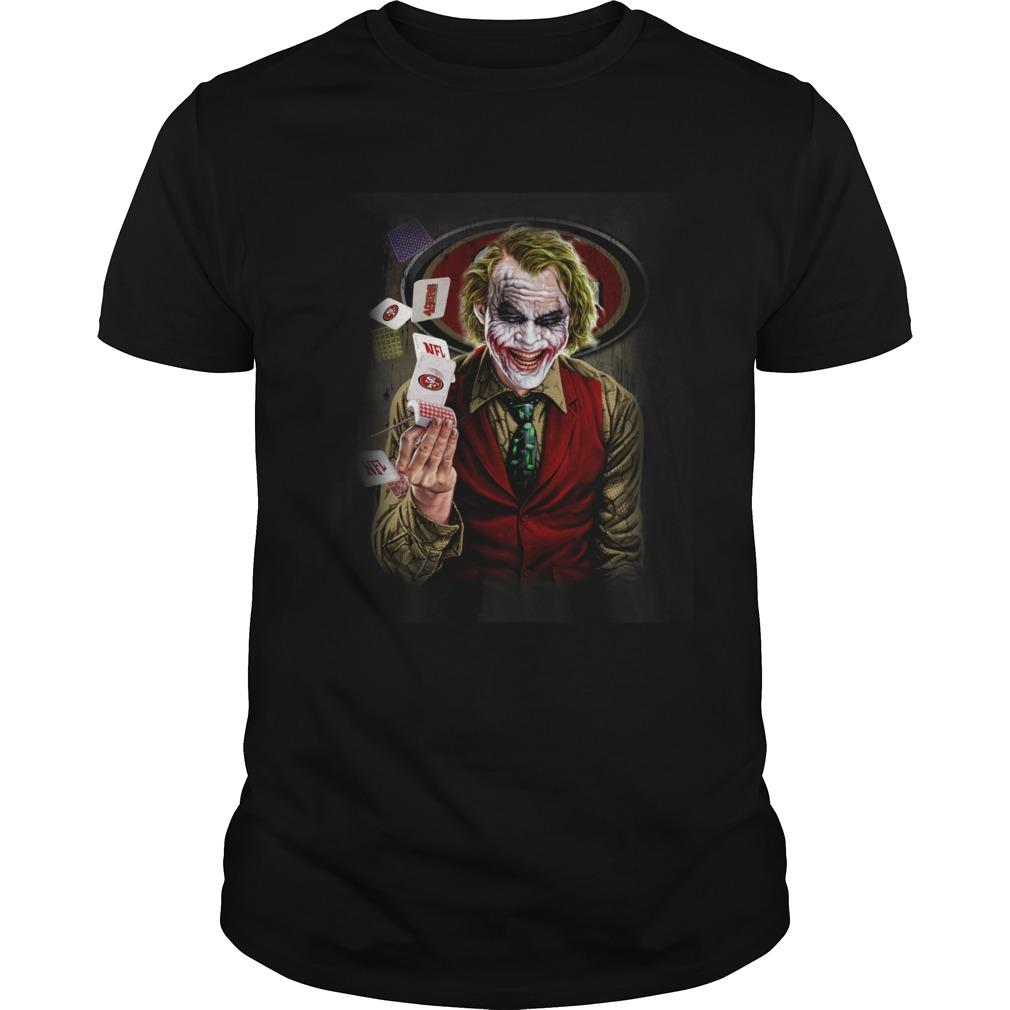 San Francisco 49ers Joker Poker Shirt Unisex