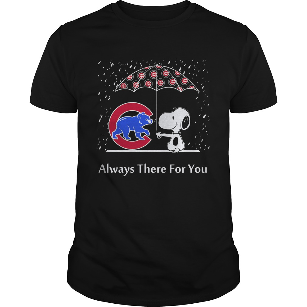 Snoopy and Chicago cubs always there for you  Unisex