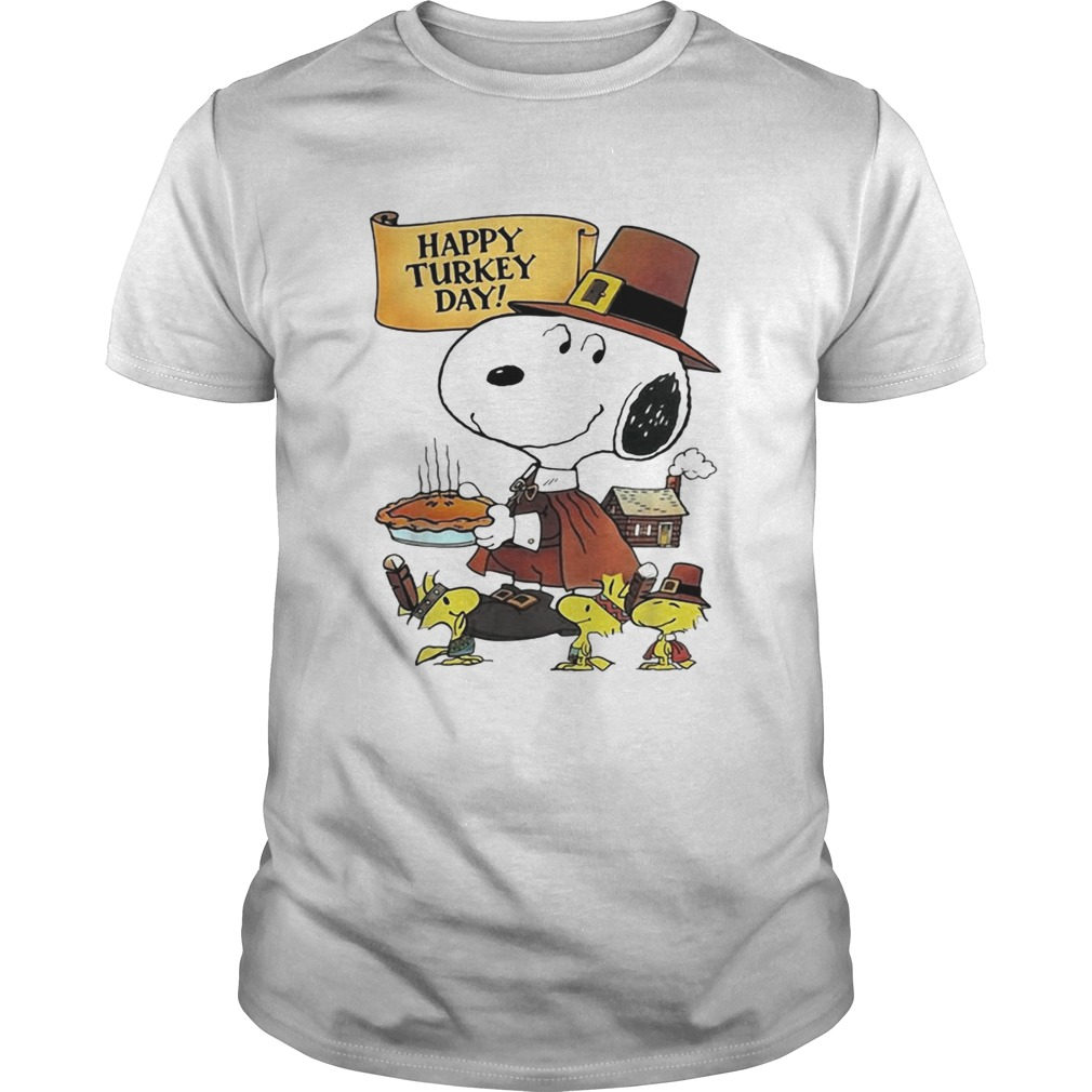 Snoopy happy Turkey day  Unisex