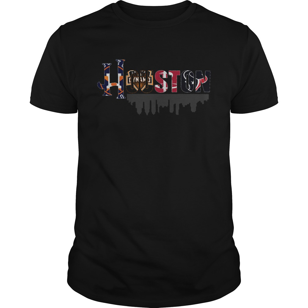 Sport in Houston City shirt