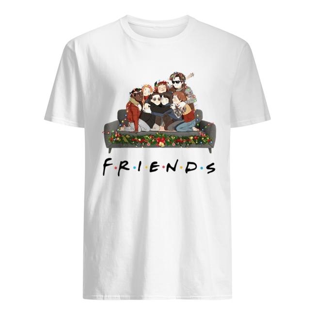 Stranger Things Friends tv show Christmas  Classic Men's T-shirt