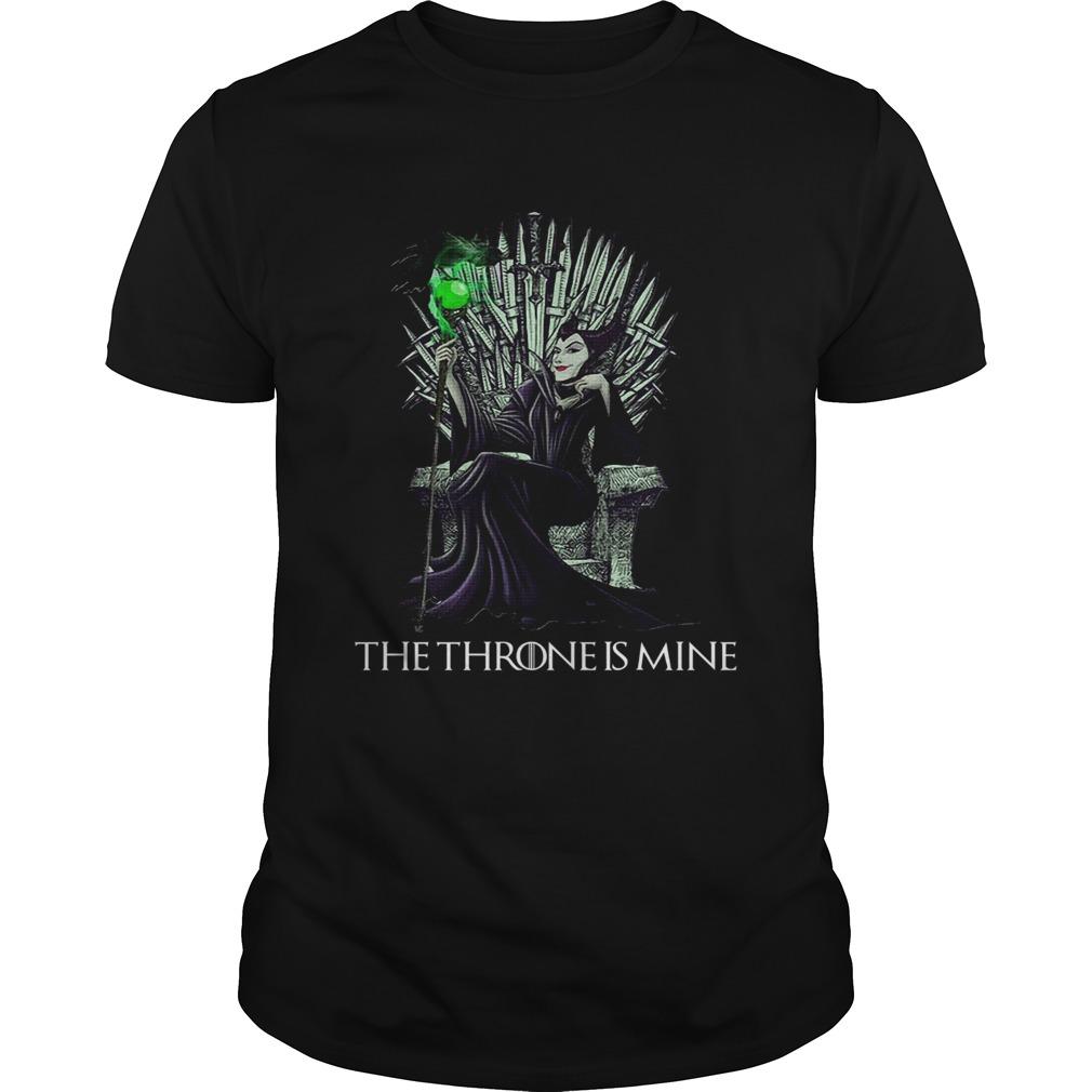 The Throne is mine Maleficent  Unisex