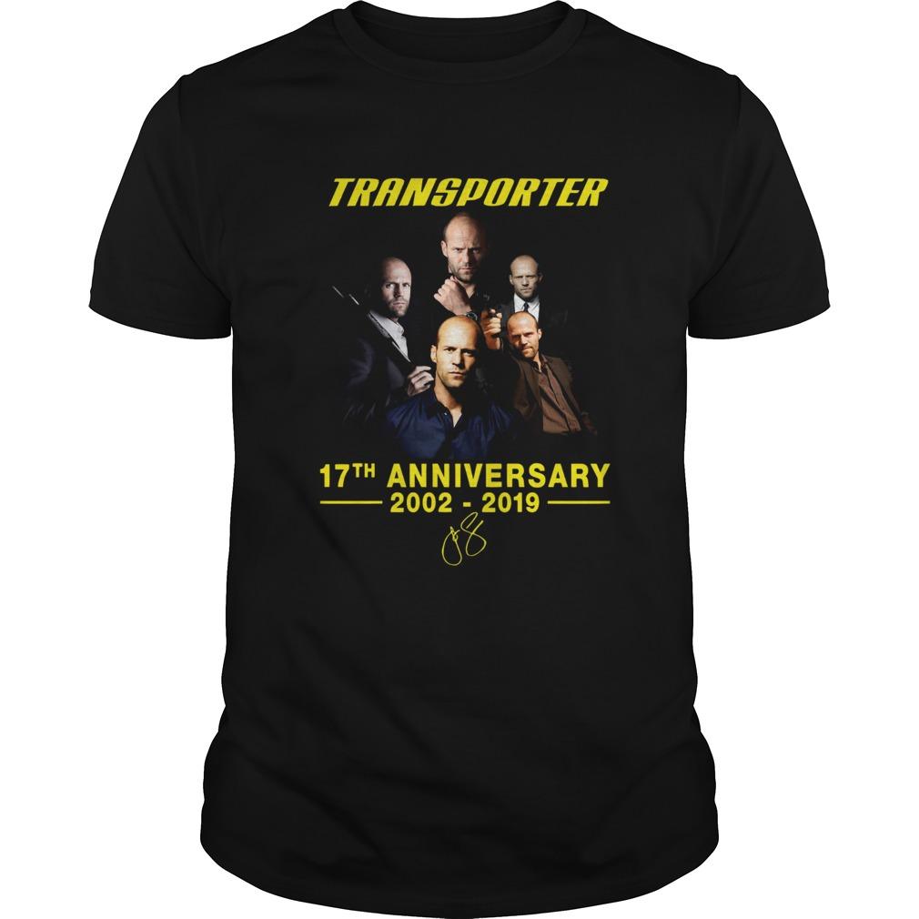 Transporter 17th anniversary 2002 2019  Unisex