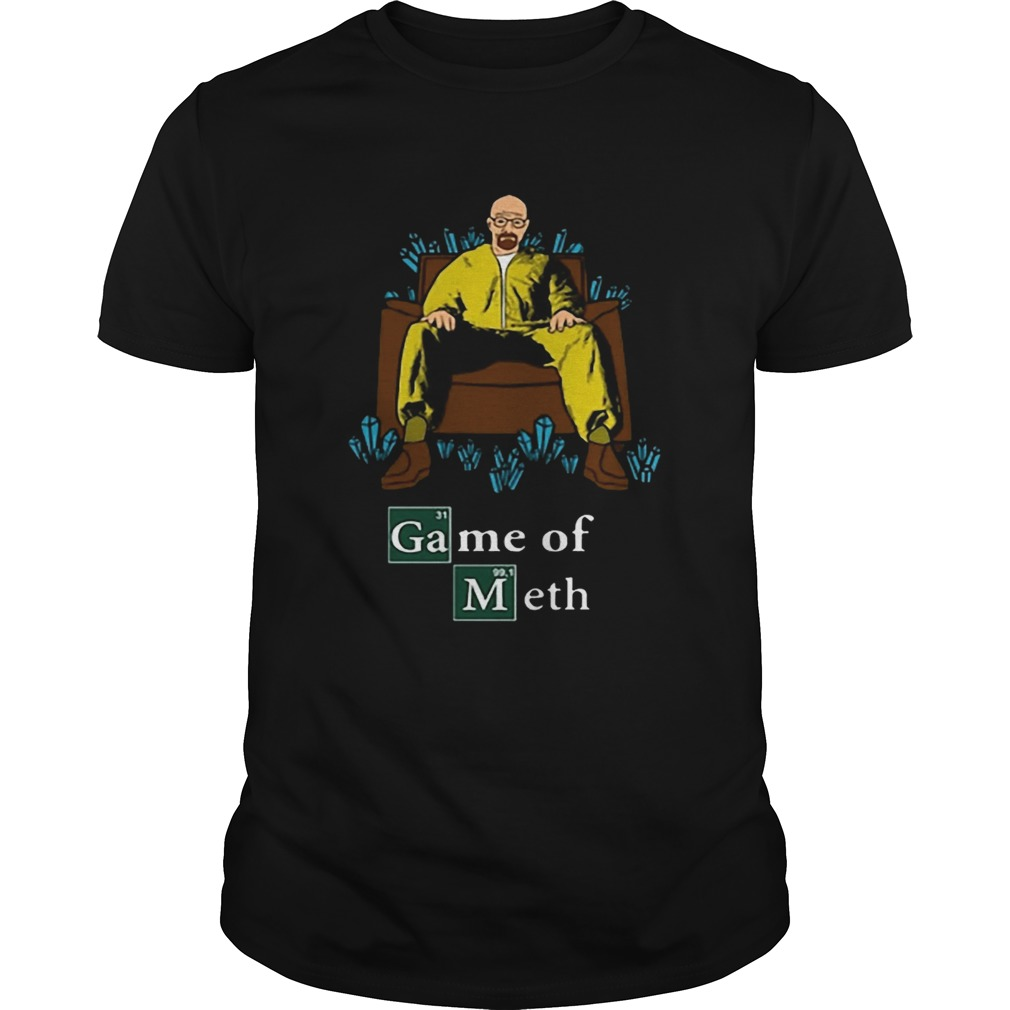 Walter White Game Of Meth Crystal Throne  Unisex