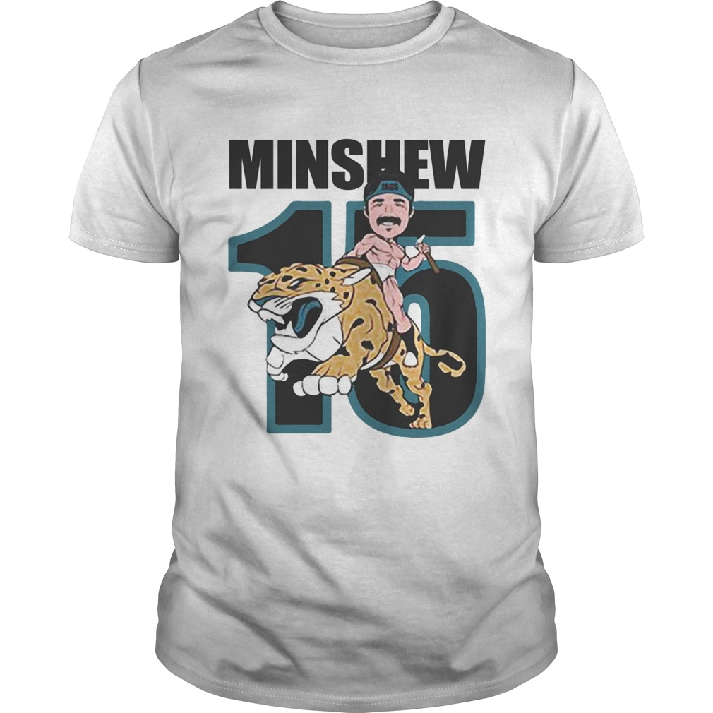 15 Magic Gardner Minshew Jacksonville Jaguars  Unisex