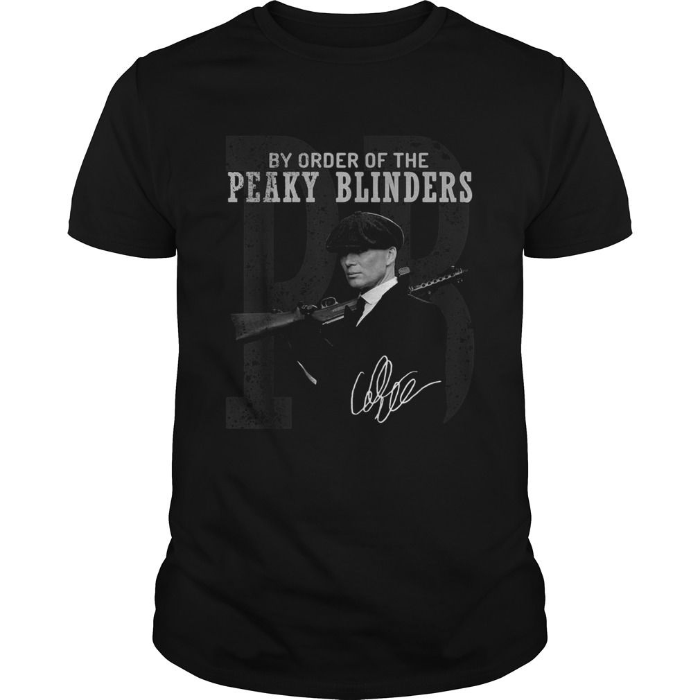 1572682725PB by order of the Peaky blinders signature  Unisex