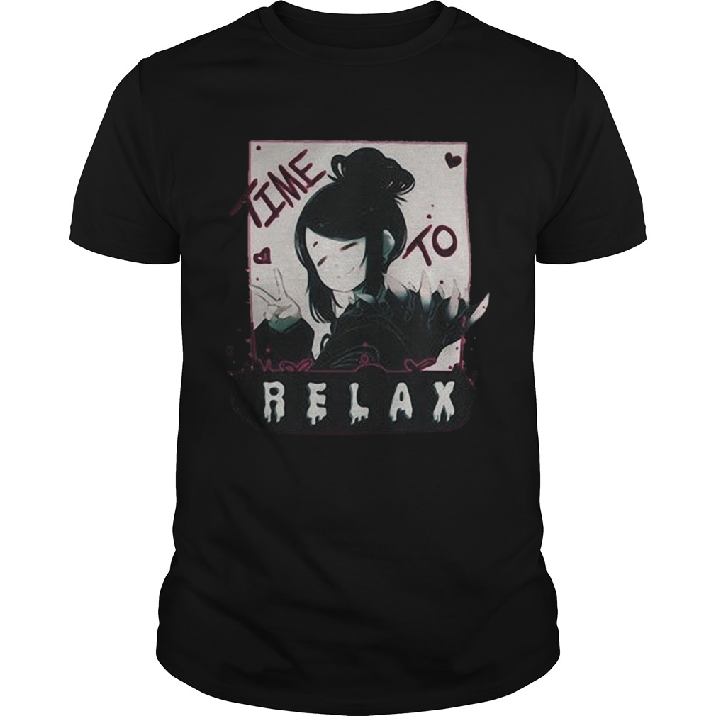 1572683618Shep Halloween Time To Relax Shirt Unisex