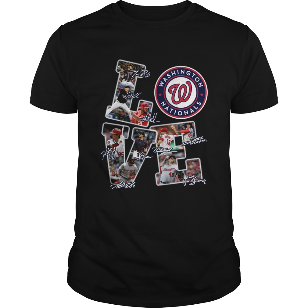 1572685859Love Nationals League Signature Shirt Unisex