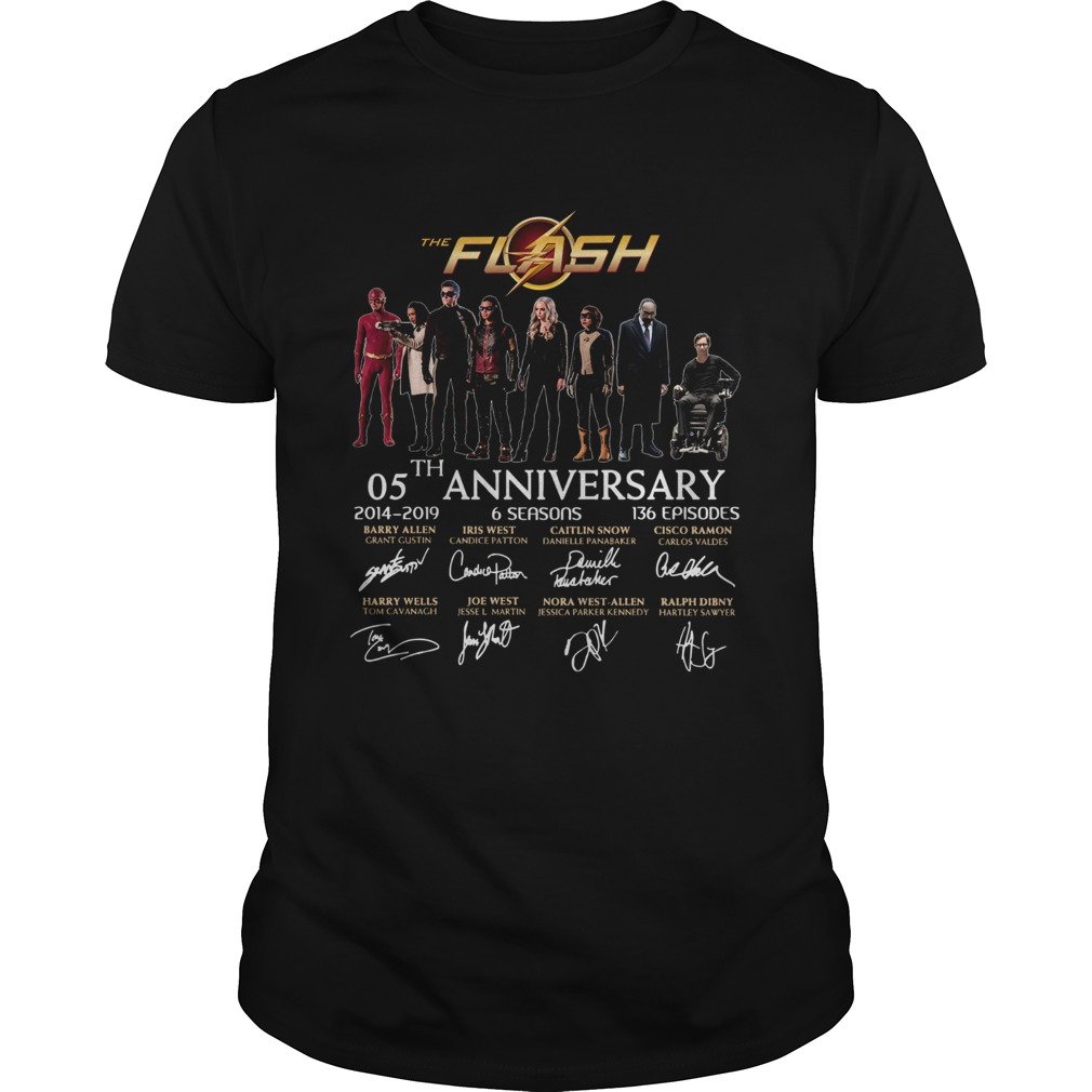 1572836504The Flash 05th anniversary 2014 2019 signature  Unisex