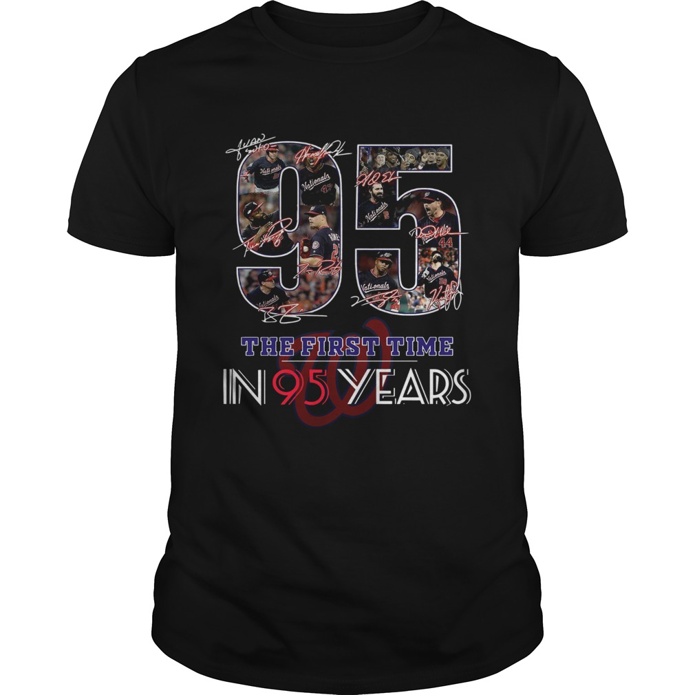 1572836806Washington Nationals Champions the first time in 95 years  Unisex