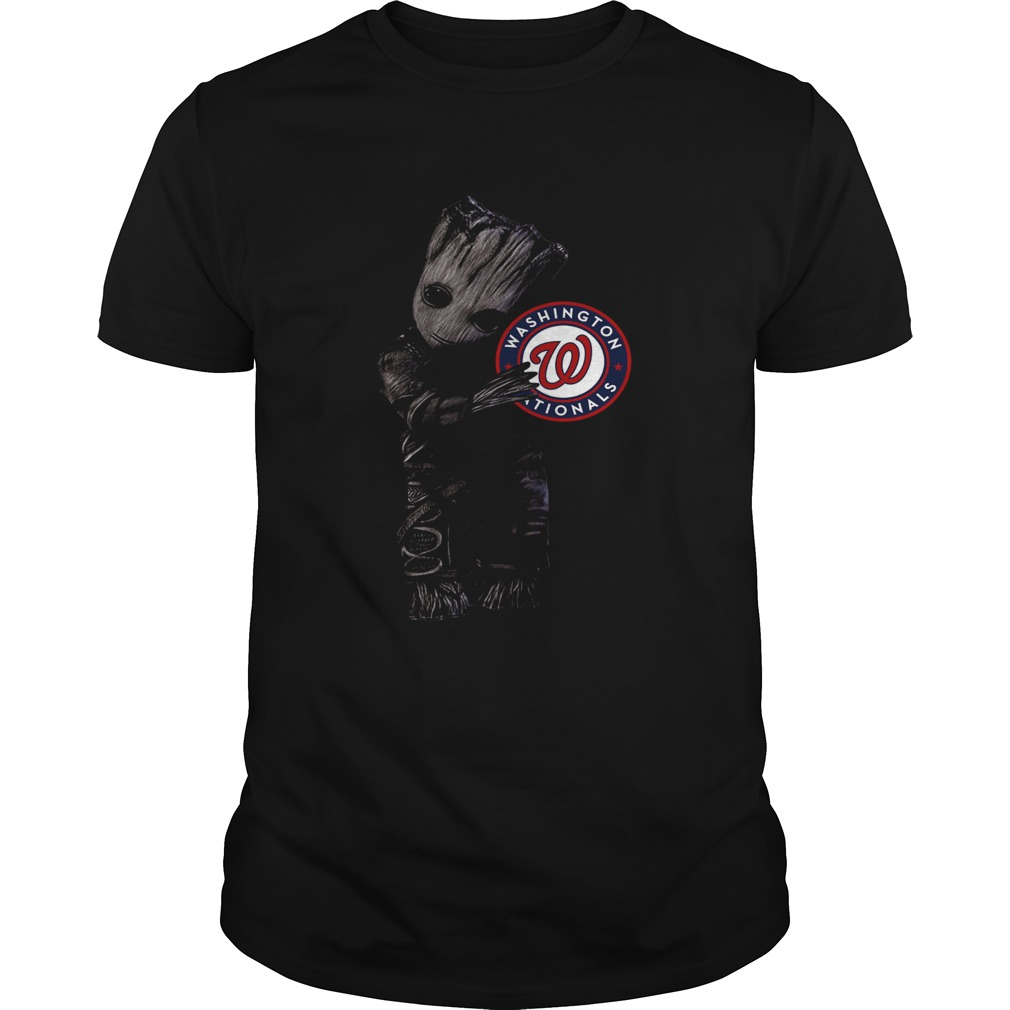 1572837079Baby Groot Hug Washington Nationals  Unisex