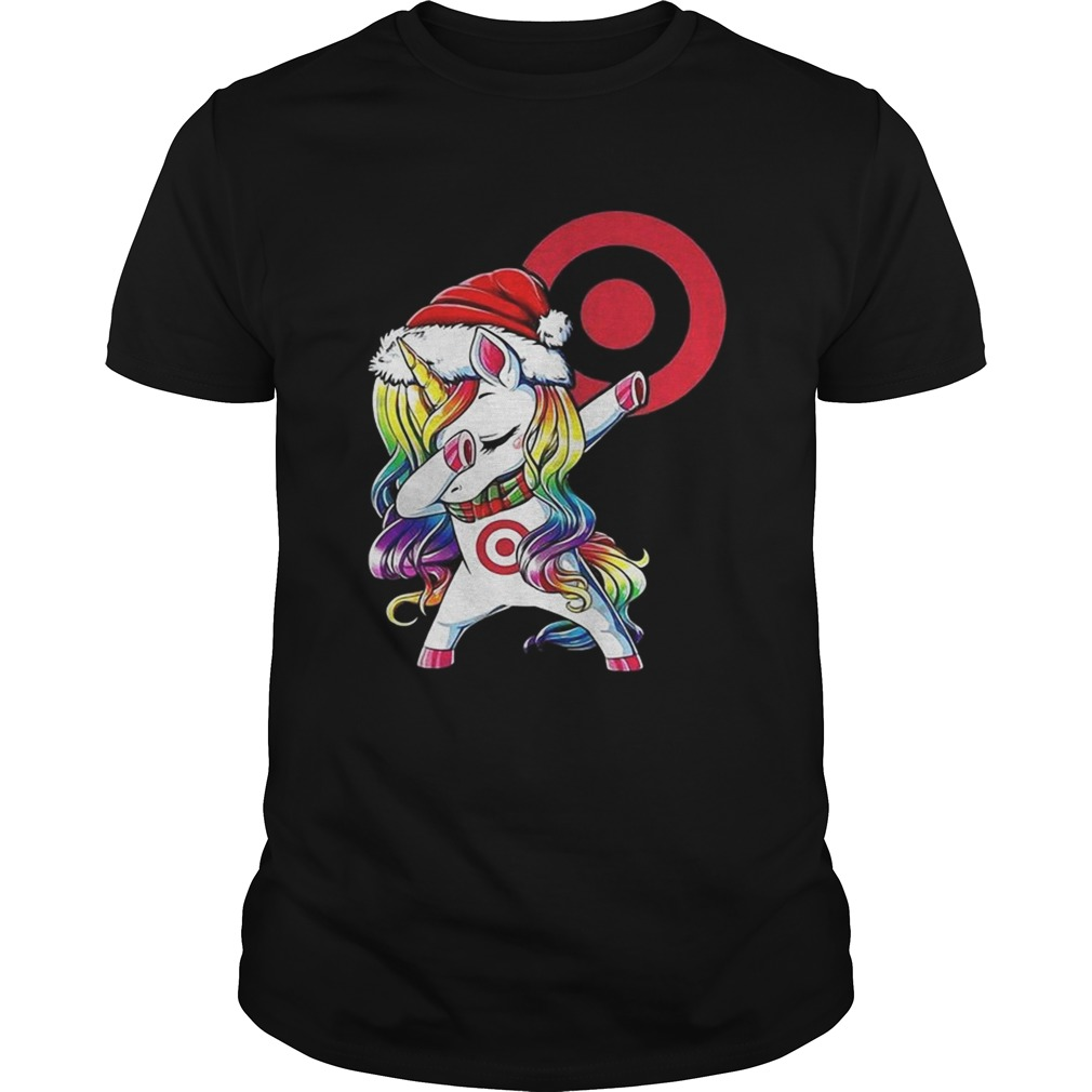 1572839615Target corporation dabbing Unicorn christmas  Unisex