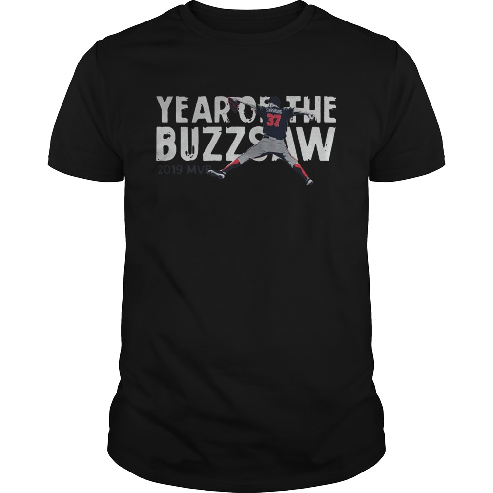 1572843092Stephen Strasburg Year Of The Buzz Saw 2019 MVP  Unisex