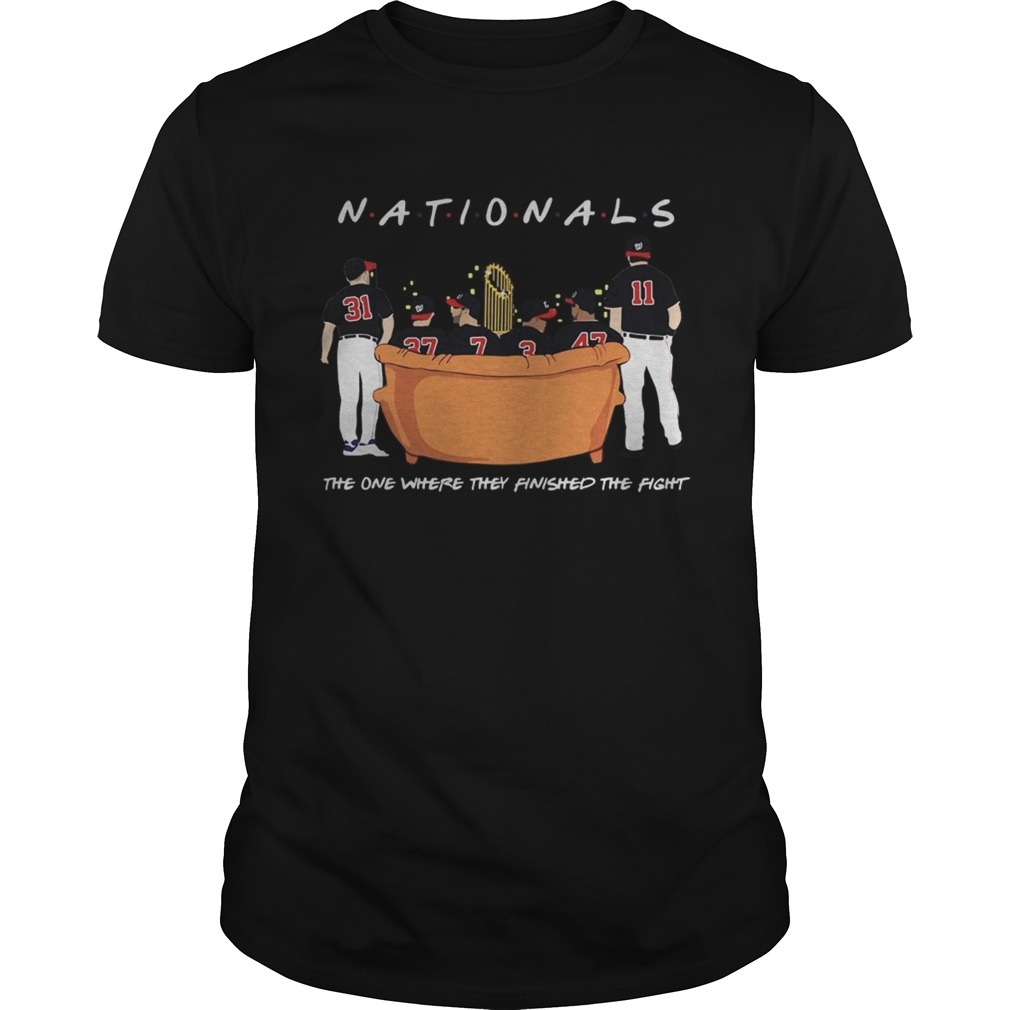 1572843811Washington Nationals Friends Sitting on the sofa the one where they finished the side  Unisex