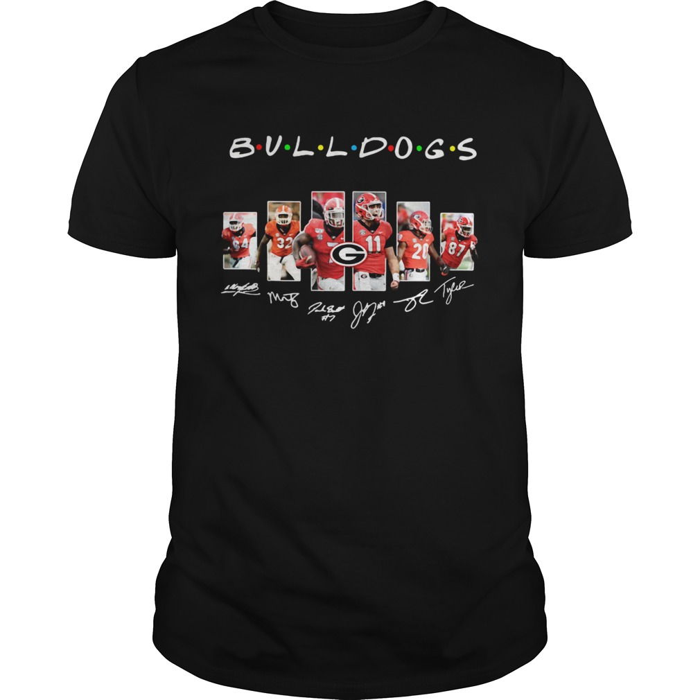 1572844288Bulldogs Friends Green Bay Packers TV Shows Signatures  Unisex