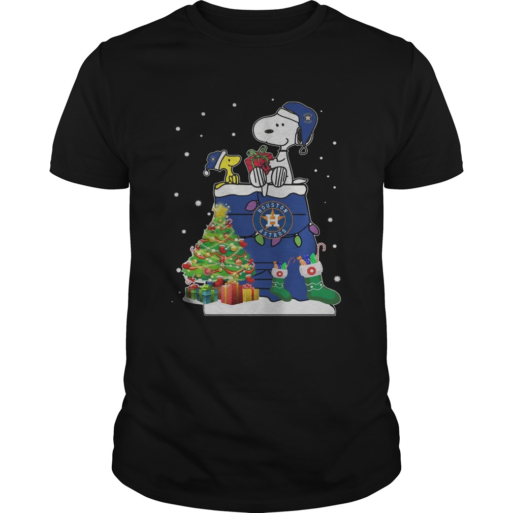 1572864303Houston Astros Snoopy And Woodstock Christmas  Unisex