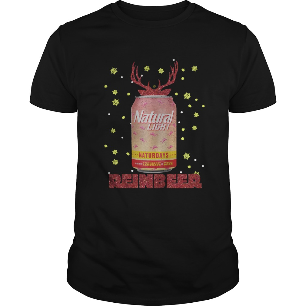 1572864659Natural Light Beer Strawberry Lemonade Naturdays Reinbeer Christmas  Unisex