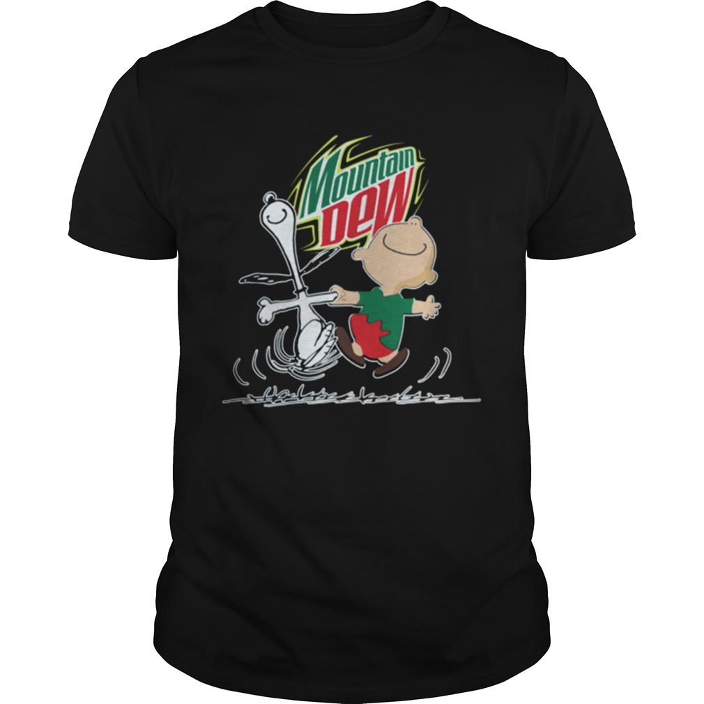 1572864769Snoopy and Charlie Brown Mountain Dew  Unisex