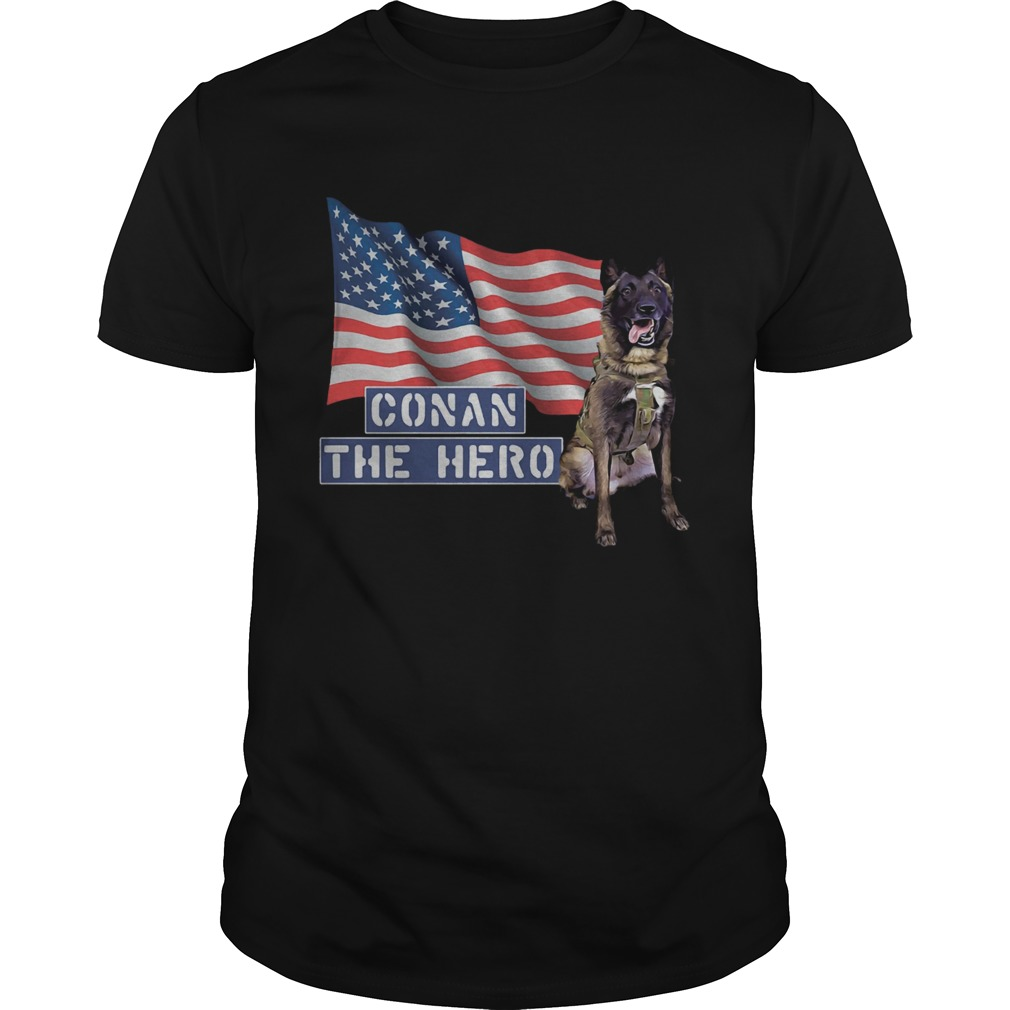 1572864907Zero Bark Thirty Conan The Hero  Unisex