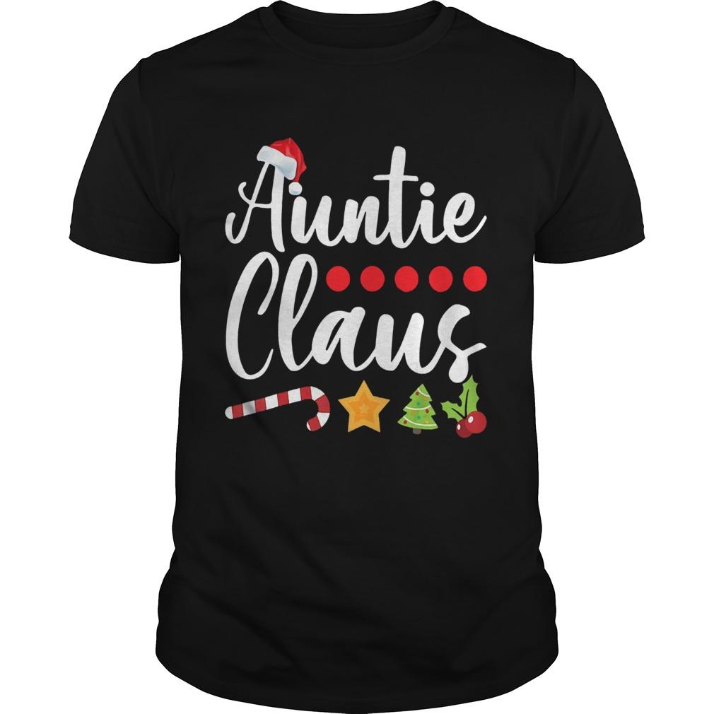 Auntie Claus Santa Hat Christmas  Unisex