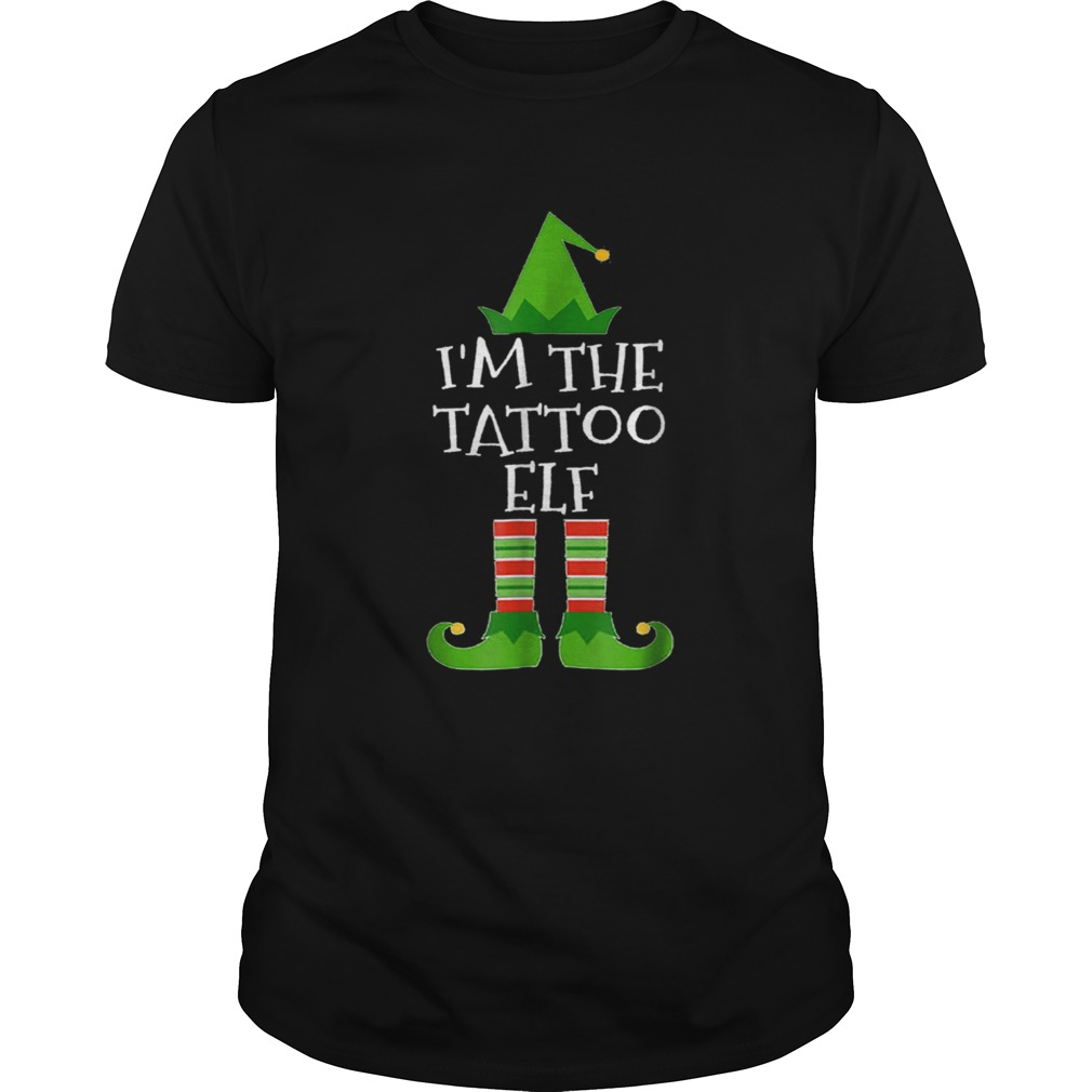 Beautiful Im The Tattoo Elf Matching Family Group Christmas  Unisex