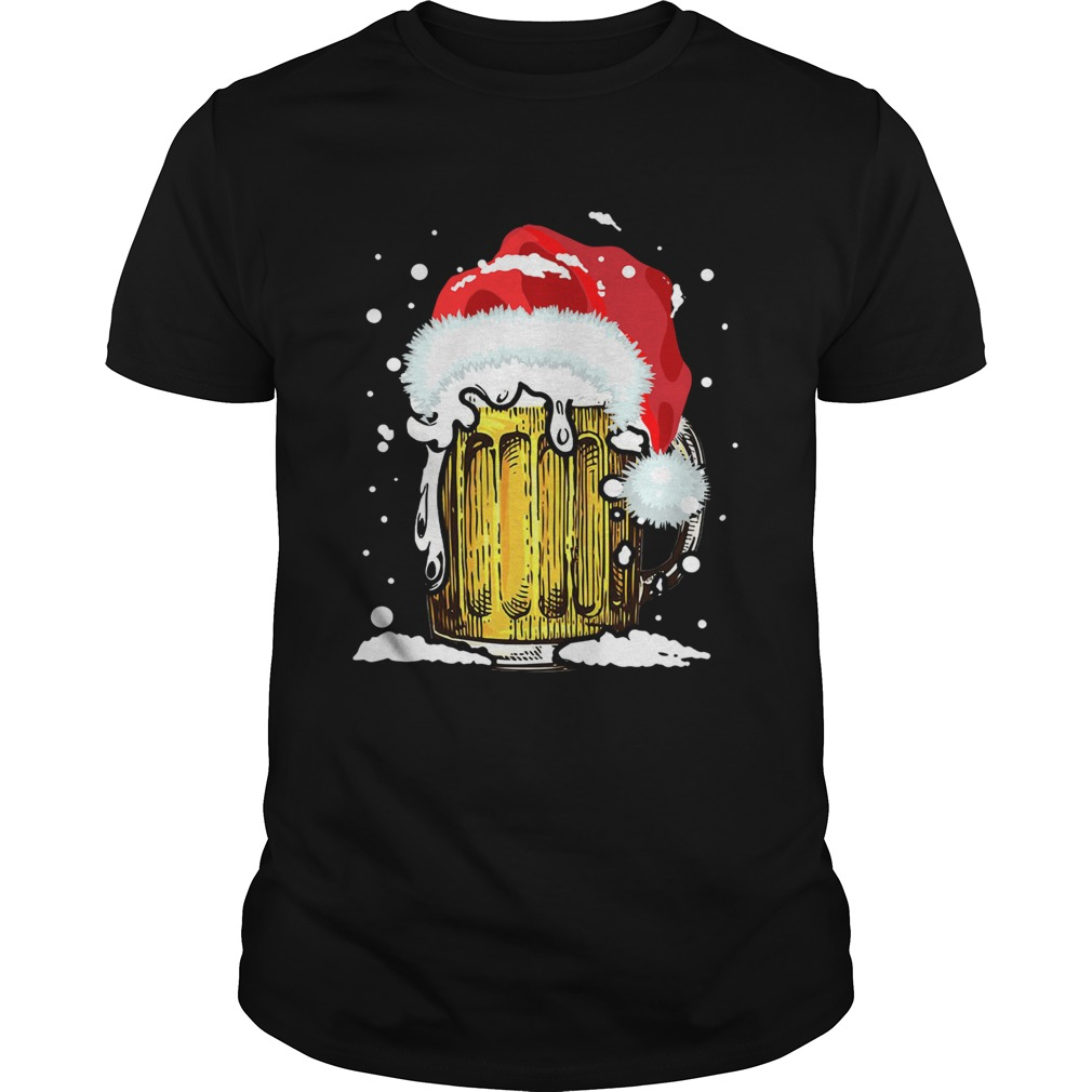 Beer Santa Ugly Christmas shirt