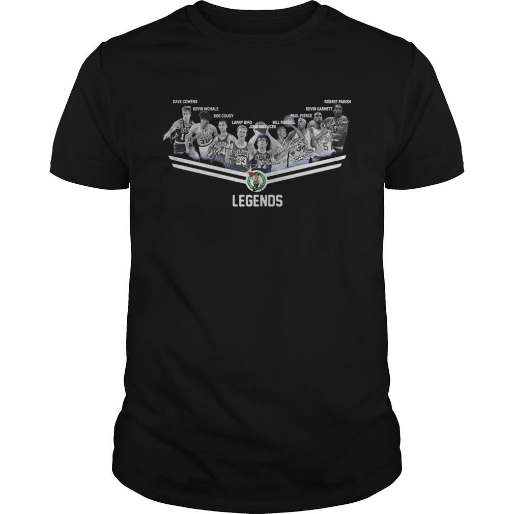 Boston Celtics Player Legends Signatures  Unisex