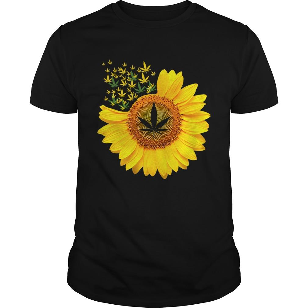 Canabis Weed Sunflower  Unisex