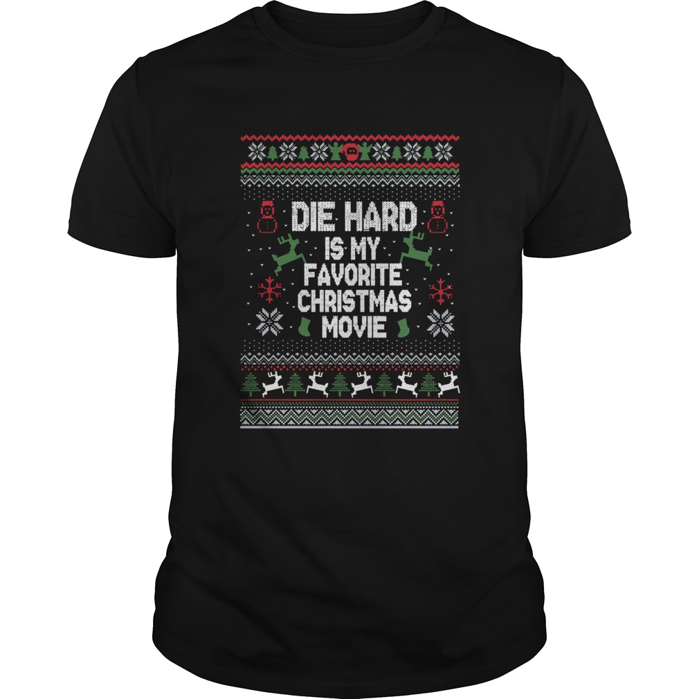 Die Hard Is My Favorite Movie Ugly Christmas  Unisex