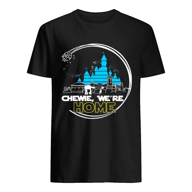 Disney Star Wars Chewie we're home  Classic Men's T-shirt