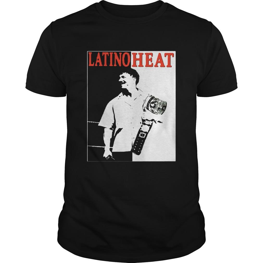Eddie Guerrero Championship Belt Latino Heat WWE shirt