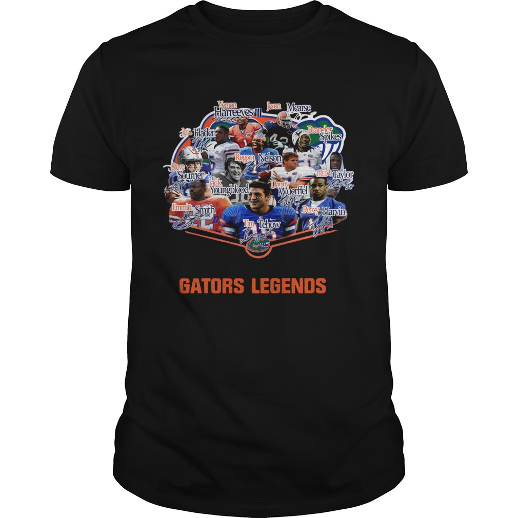 Florida Gators football Steve Spurrier Joe Haden Jevon Kearse Legends Signatures  Unisex