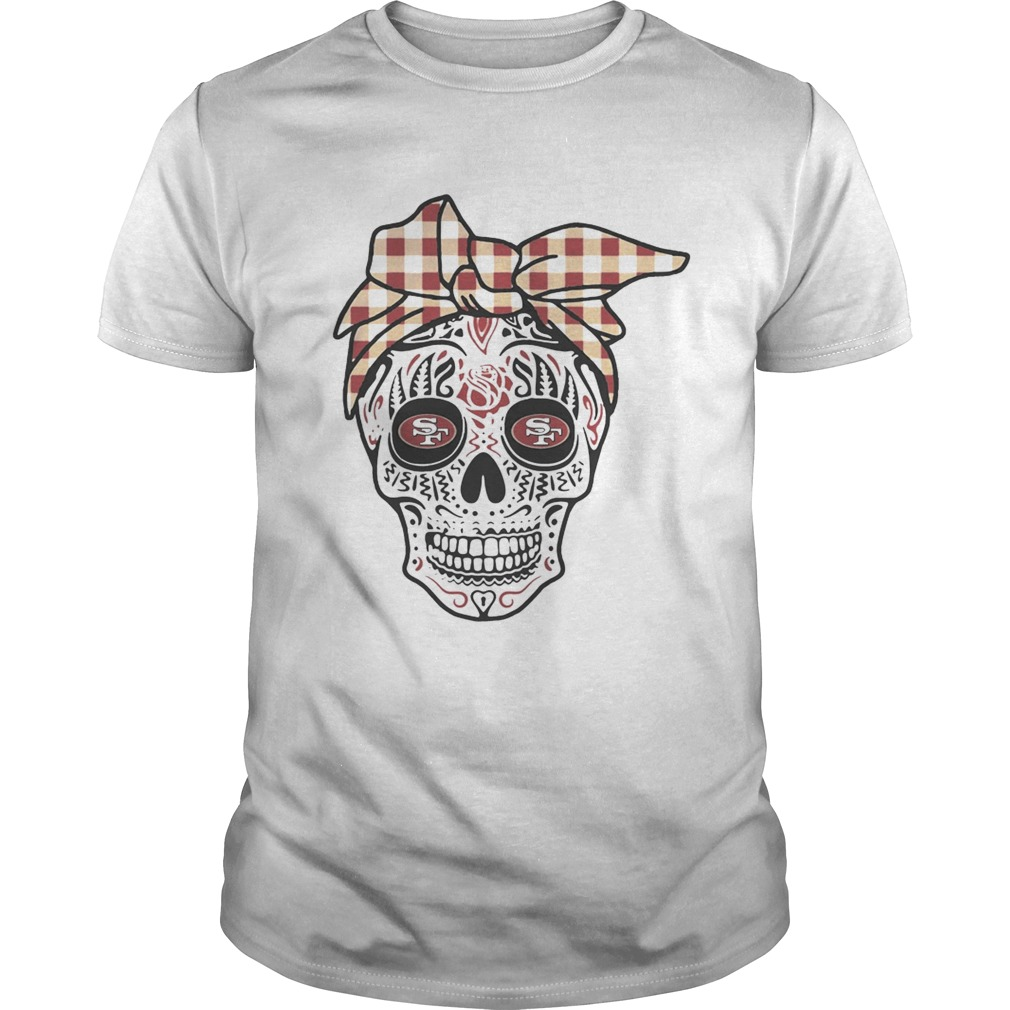 Francisco 49ers Sugar Skull  Unisex