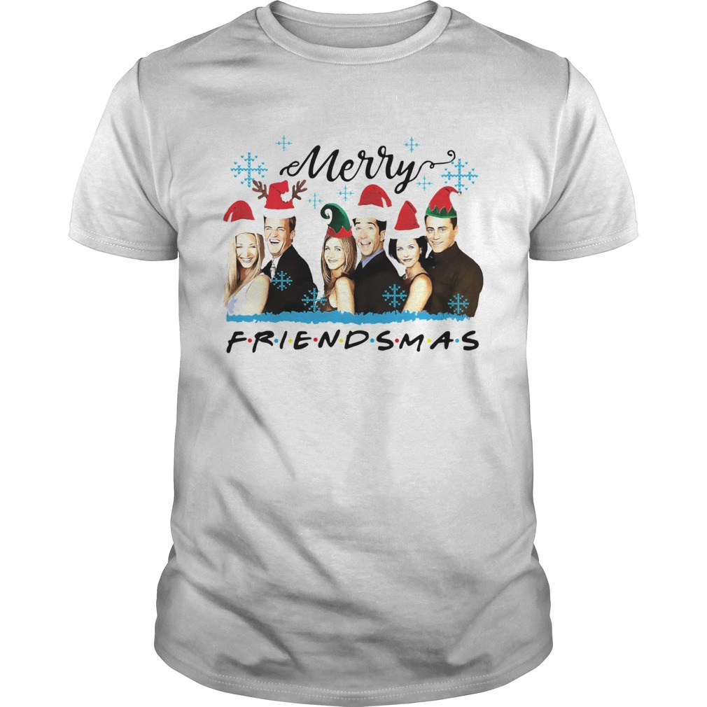 Friends Merry Friendsmas Christmas  Unisex