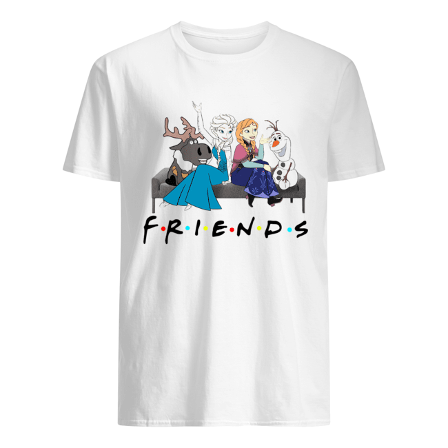 Friends TV show Frozen character shirt