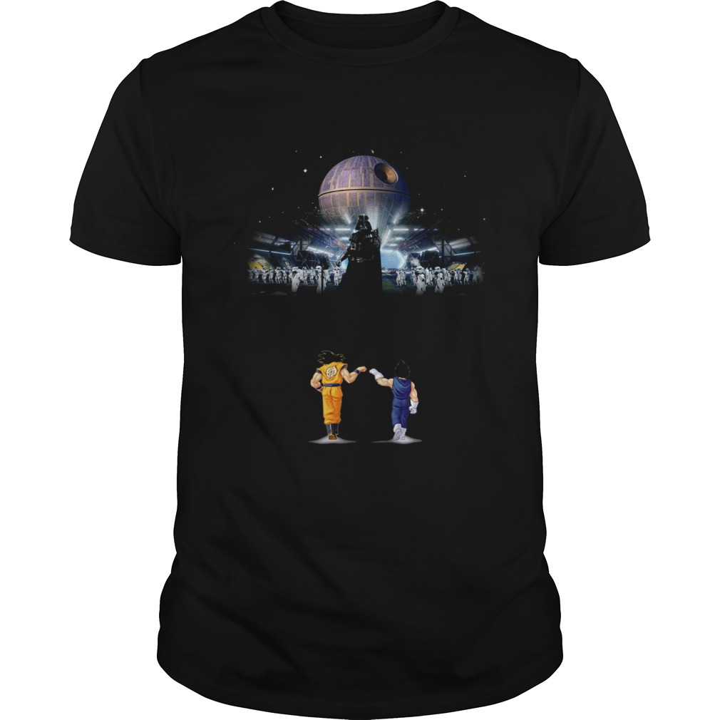 Goku and Vegeta Vs Darth Vader Star Wars  Unisex