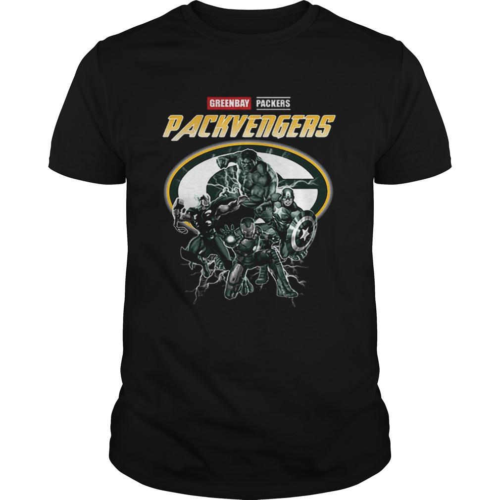 Greenbay Packers Packvengers Avengers Marvel  Unisex