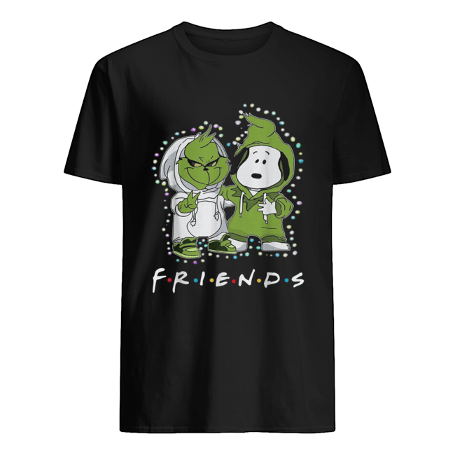 Grinch and Snoopy friends tv show Christmas  Classic Men's T-shirt