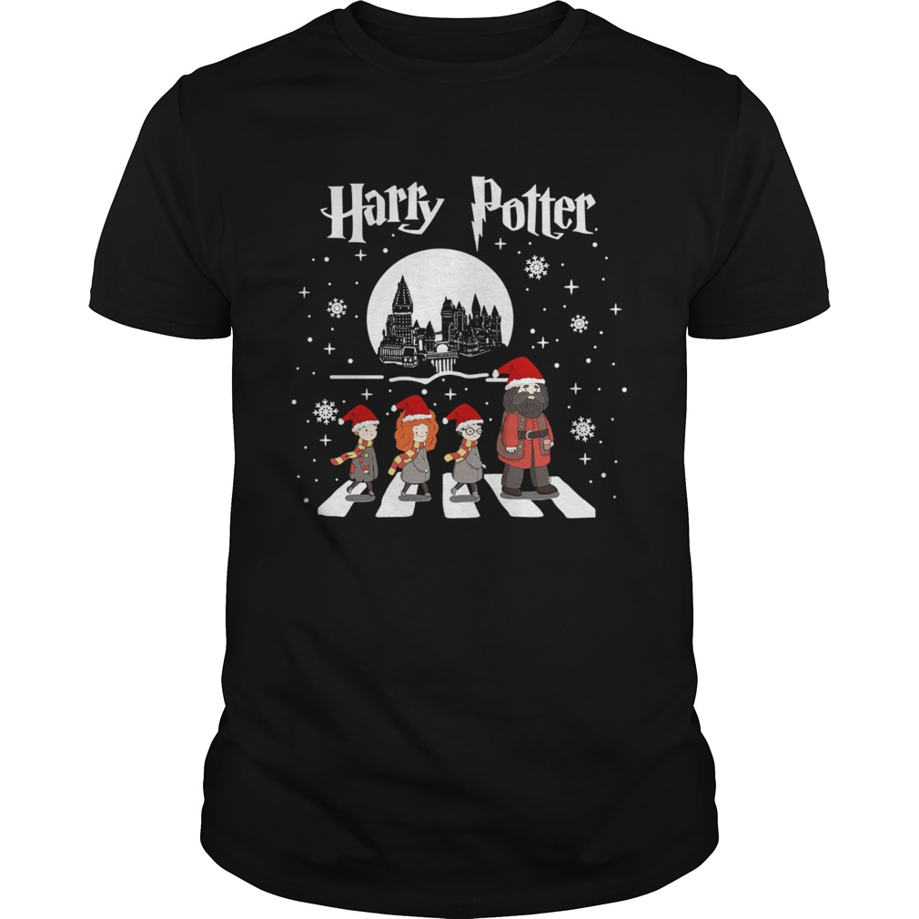 Harry Potter walking On Abbey Road Christmas  Unisex